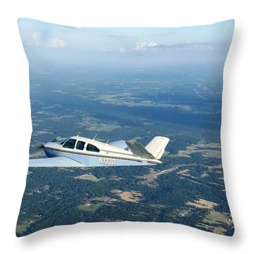 Andy And His Bonanza Throw Pillow