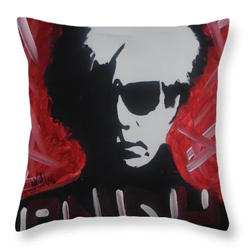 Andy, Andy Throw Pillow
