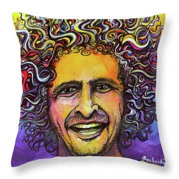 Andy Frasco Throw Pillow