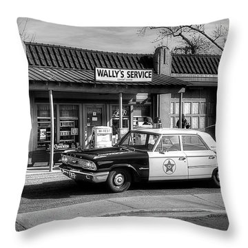 Andy Griffith And Mayberry Throw Pillow