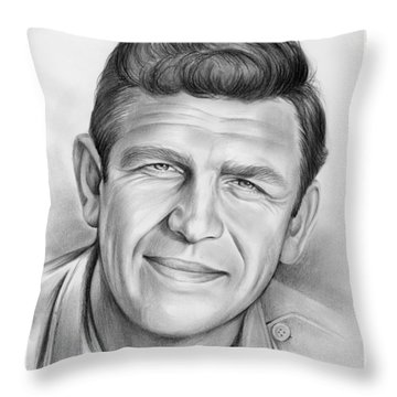 Andy Griffith Throw Pillow