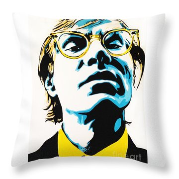 Andy Warhol Part Two. Throw Pillow