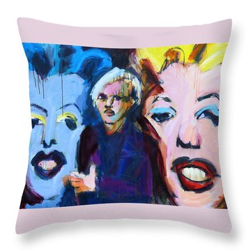 Andy's Monsters Throw Pillow