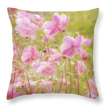 Anemone Dance Throw Pillow