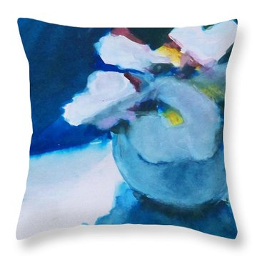 Anemones Throw Pillow by Ed  Heaton