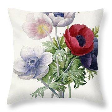 Anemone Simple Throw Pillow