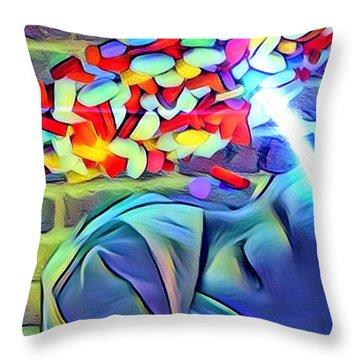 Anesthetized  Throw Pillow