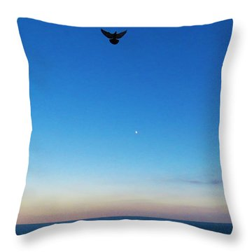 Angel Bird Throw Pillow