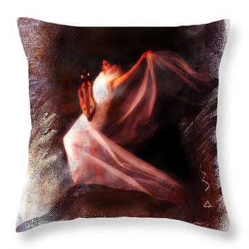 Ballet Angel Throw Pillow