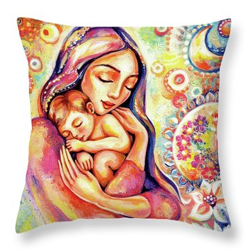 Angel Dream Throw Pillow