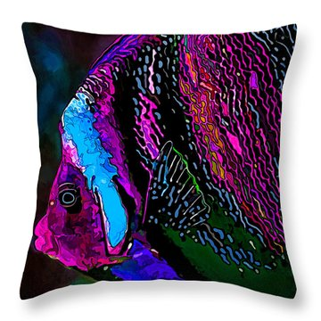 Angel Face 1 Throw Pillow