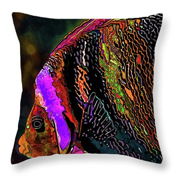 Angel Face 2 Throw Pillow