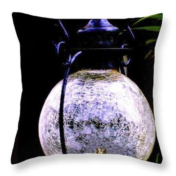Angel Globe Throw Pillow