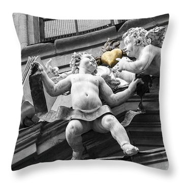 Angel Heart Throw Pillow