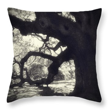 Angel II Throw Pillow by Amy Tyler