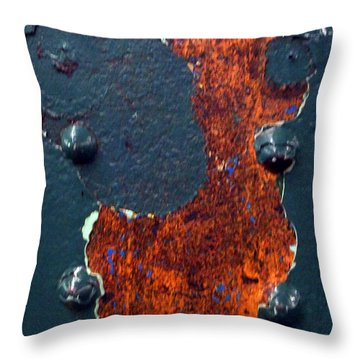 Angel In Subway Throw Pillow