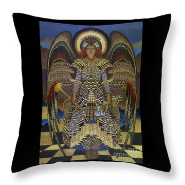 Angel Throw Pillow by Jane Whiting Chrzanoska