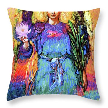 Angel Love Throw Pillow