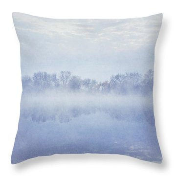 Angel Mist Throw Pillow