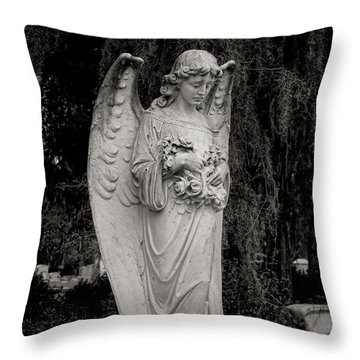 Angel Of Expression Throw Pillow