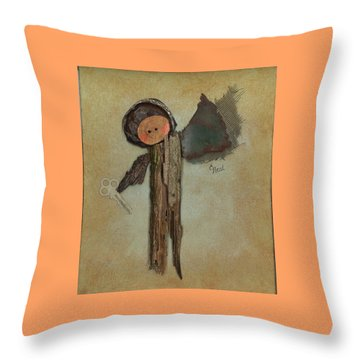 Angel Of The Ages Throw Pillow
