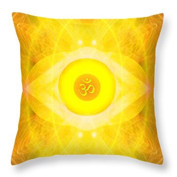 Angel Of The Sun Throw Pillow