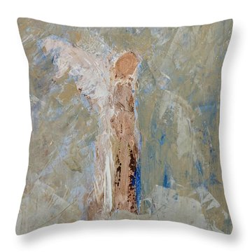 Angel Out Of Nowhere Throw Pillow
