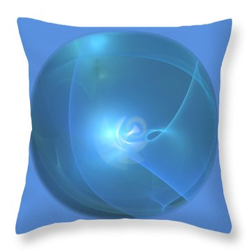 Angel Throw Pillow by Victoria Harrington