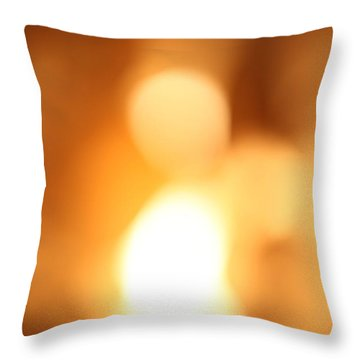 Angel Within Throw Pillow by Amanda Barcon
