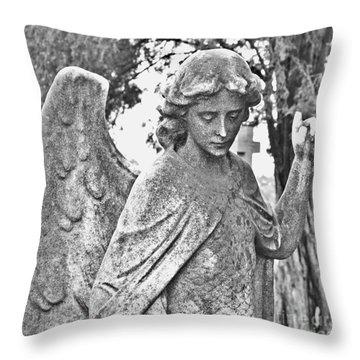 Angel2 Throw Pillow