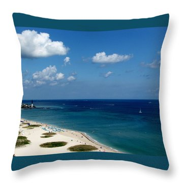 Angela's Getaway Throw Pillow