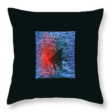 Angelfish Throw Pillow