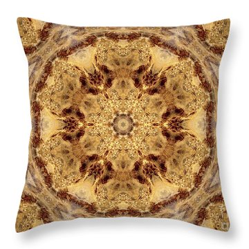 Angelic Fire Throw Pillow