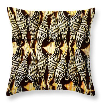 Angelic Patterns Throw Pillow