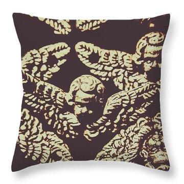 Angelic Renaissance  Throw Pillow