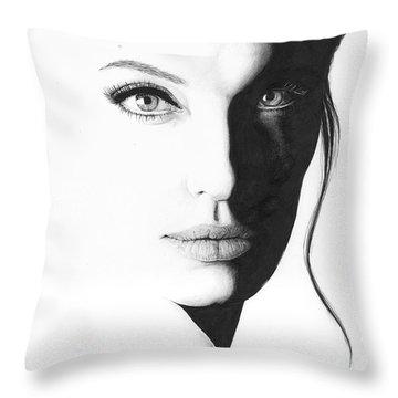 Angelina Throw Pillow