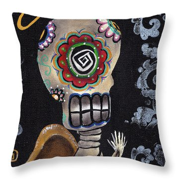Angelito  Throw Pillow