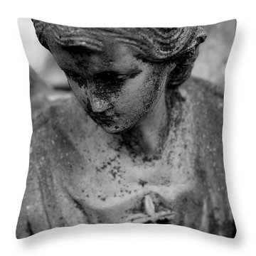 Throw Pillow featuring the photograph Angels Among Us by Viviana  Nadowski