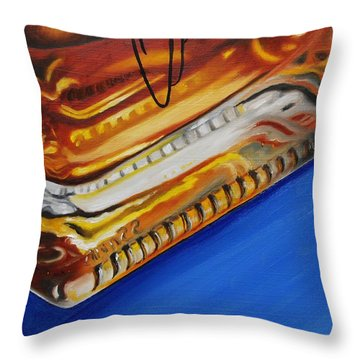 Angel's Envy Throw Pillow by Emily Page