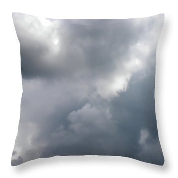 Throw Pillow featuring the photograph Angels In The Sky by Sandi OReilly