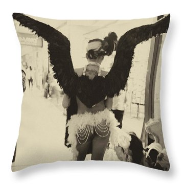Angels Of Las Vegas Throw Pillow