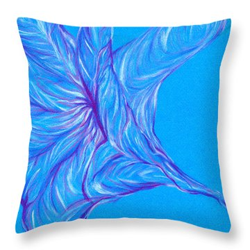 Throw Pillow featuring the photograph Angel's Trumpet by Kim Sy Ok