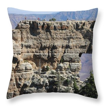 Angel's Window  -- North Rim Grand Canyon Throw Pillow