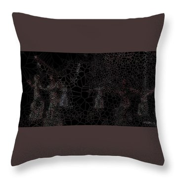 Angels Workout Throw Pillow