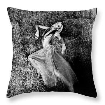 Angelus Domini Throw Pillow