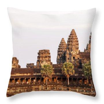 Angkor Wat 19 Throw Pillow