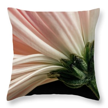 Angled Mum Throw Pillow