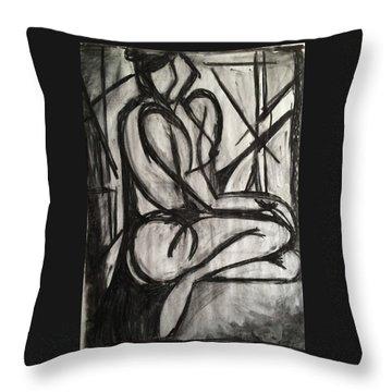 Angled Repose Throw Pillow