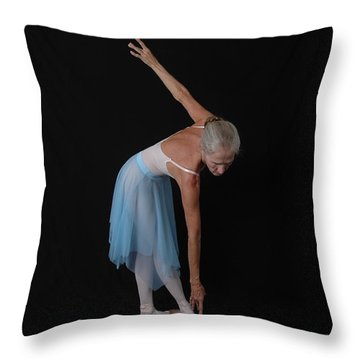 Angles And Lines Of Dance Throw Pillow