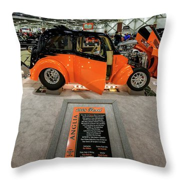Throw Pillow featuring the photograph Anglia by Randy Scherkenbach